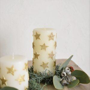 キャンドル リース クリスマス